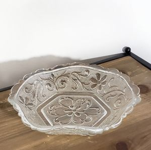Floral Accent Dish